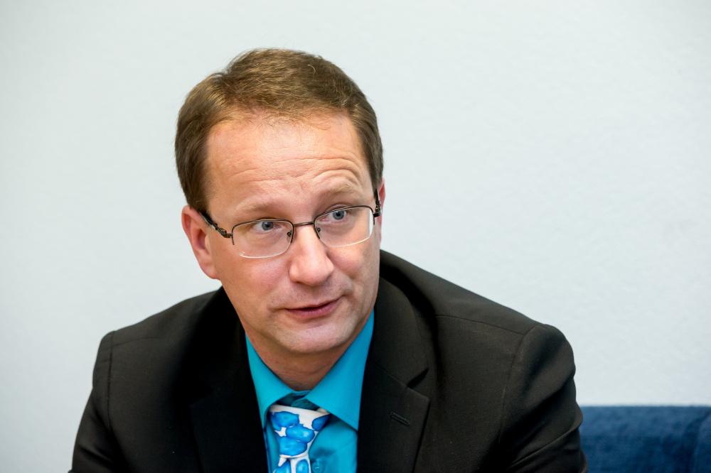 Andmekaitseinspektsiooni juht Viljar Peep. FOTO: ERIK PROZES / POSTIMEES / SCANPIX