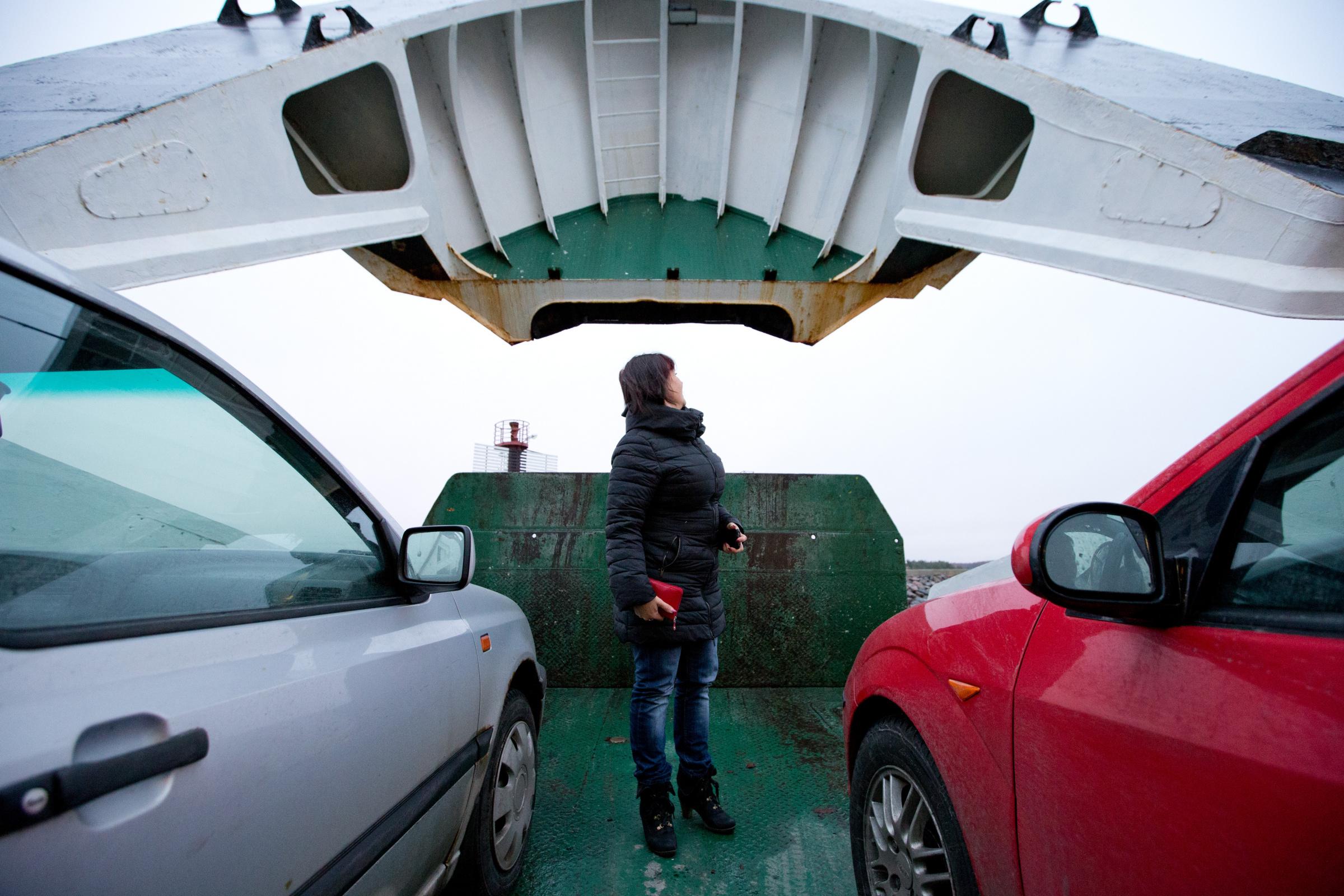 Majandus.ee: Vormsi praam. Foto: LIIS TREIMANN/POSTIMEES