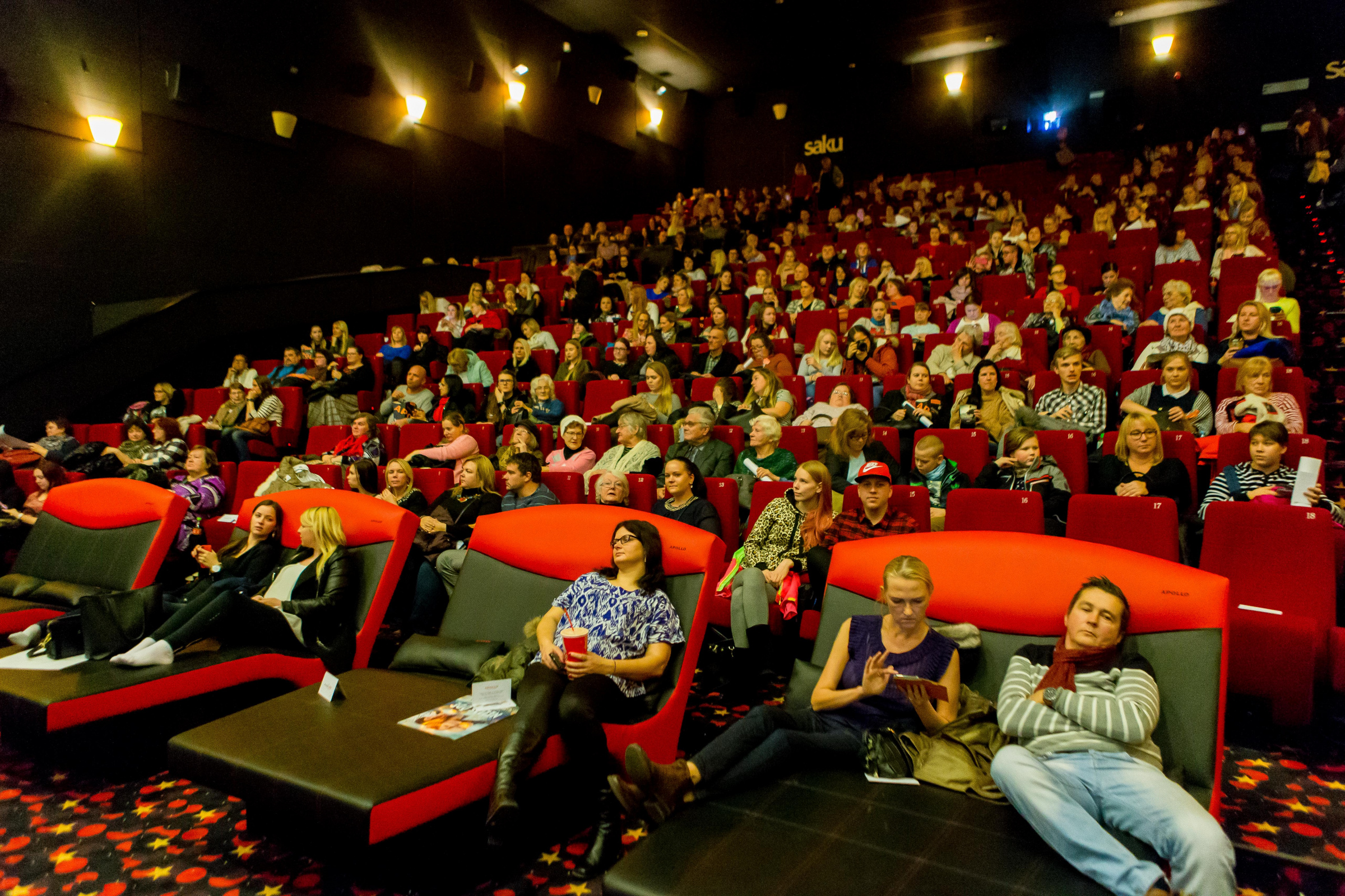 Majandus.ee: Kino. Solaris Apollo. Foto: EESTI MEEDIA/SCANPIX BALTICS/Madis Sinivee