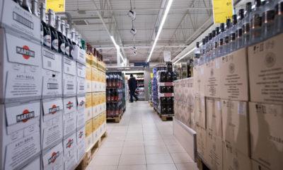 Läti alkohol. Kaubandus. Foto: Tarmo Lutter/PM/SCANPIX BALTICS