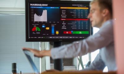 NASDAQ OMX Börs. PM/SCANPIX BALTICS/TAIRO LUTTER