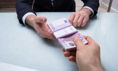 Korruptsioon, pettus. Foto: Panthermedia / Andriy Popov