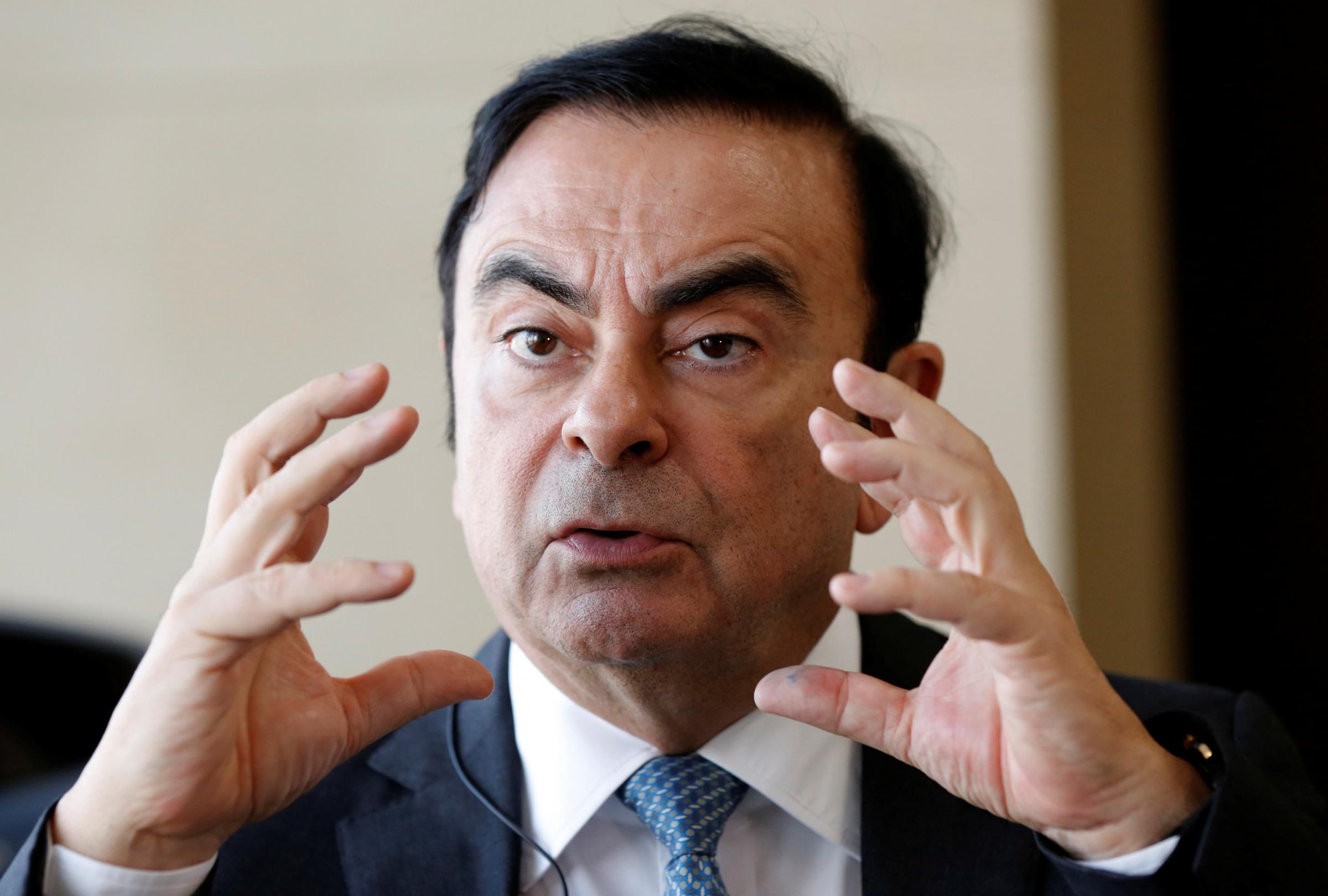 Carlos Ghosn, Renault Groupe, elektriauto. Foto: REUTERS/Toru Hanai