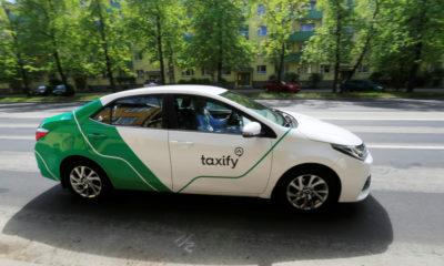 Taxify. Foto: REUTERS/Ints Kalnins