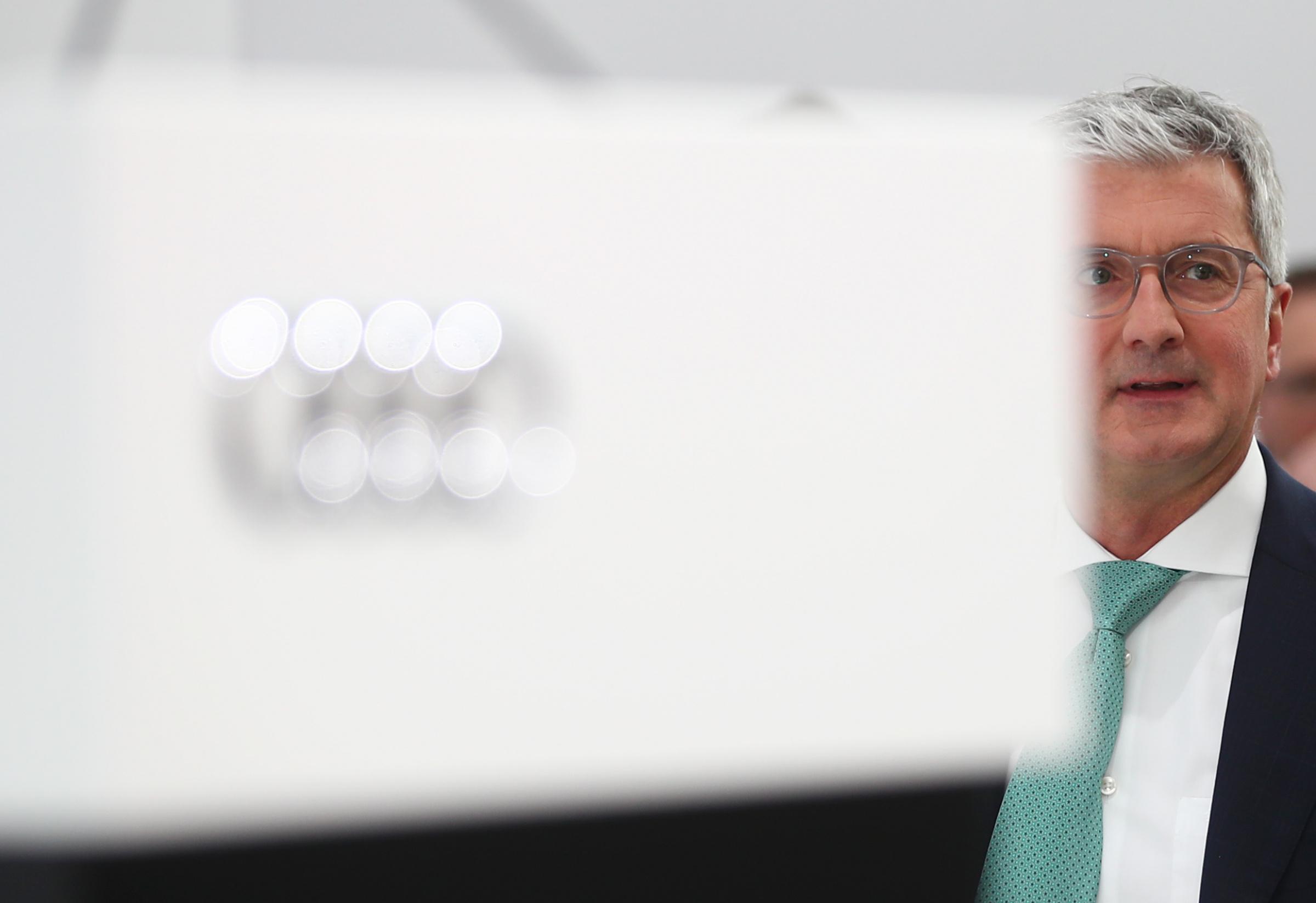 Audi tegevjuht Rupert Stadler. Foto: REUTERS/Michael Dalder