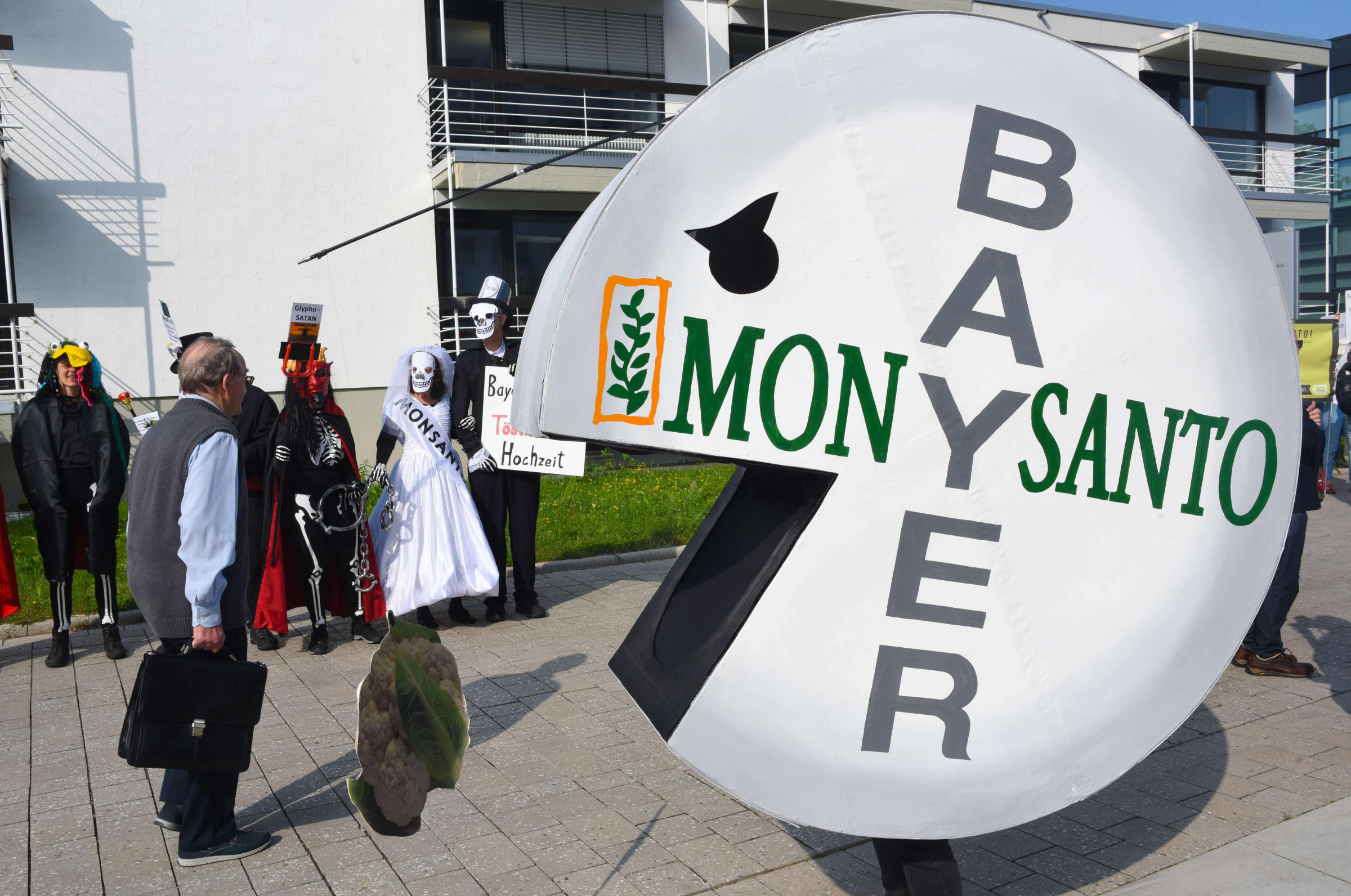 Majandus.ee: Monsanto Bayer liitumine Foto: AFP PHOTO / Patrik STOLLARZ