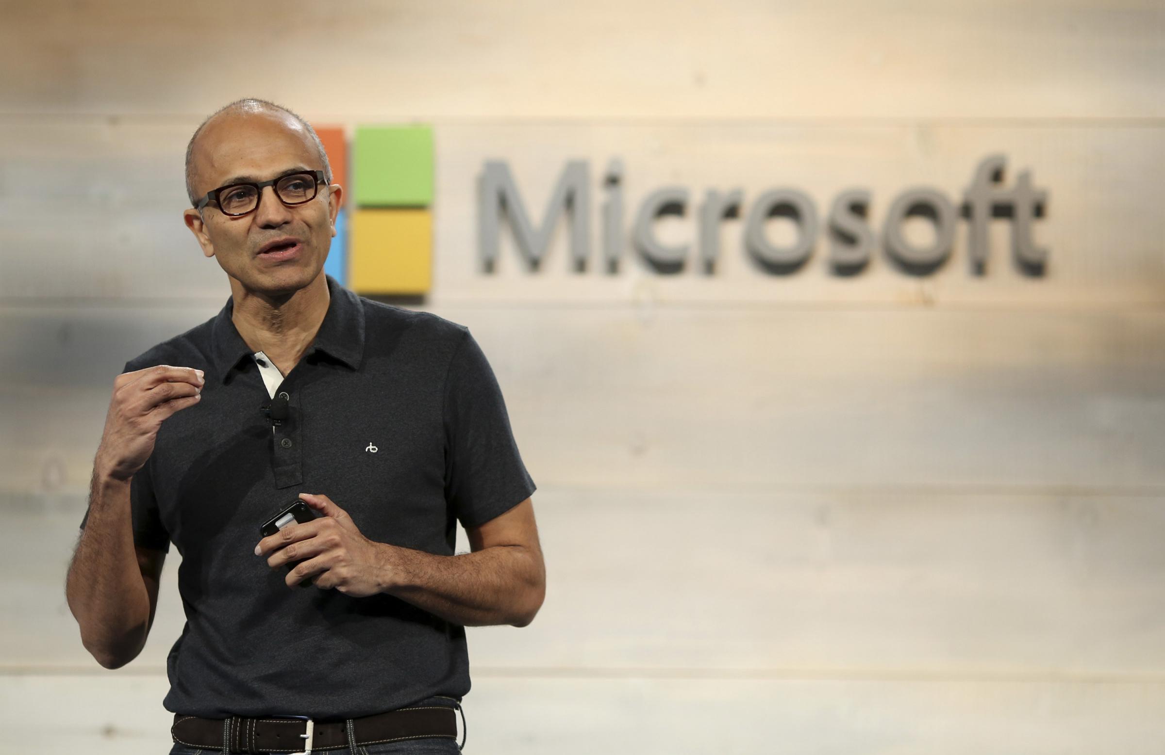 Majandus.ee: Microsofti juht Satya Nadella Foto: REUTERS/Robert Galbraith