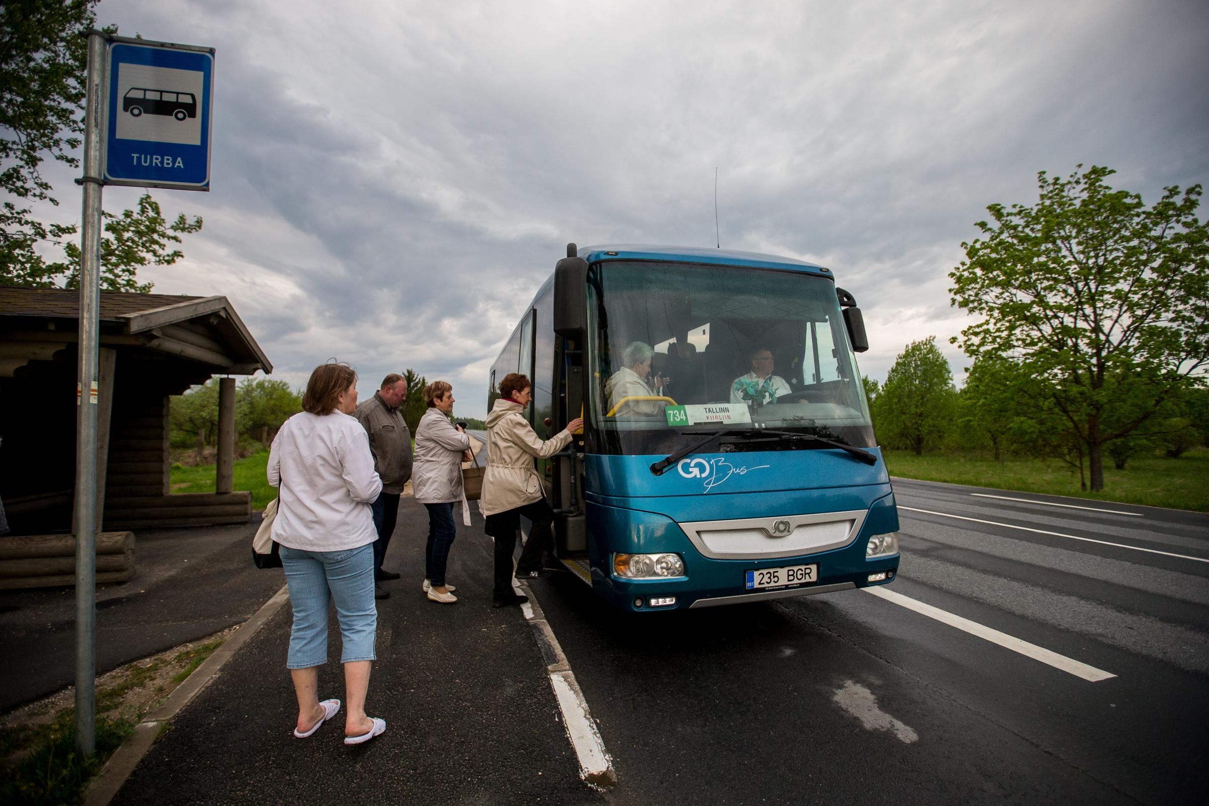 Buss, ühistransport. Foto: EERO VABAMÄGI/POSTIMEES/SCANPIX