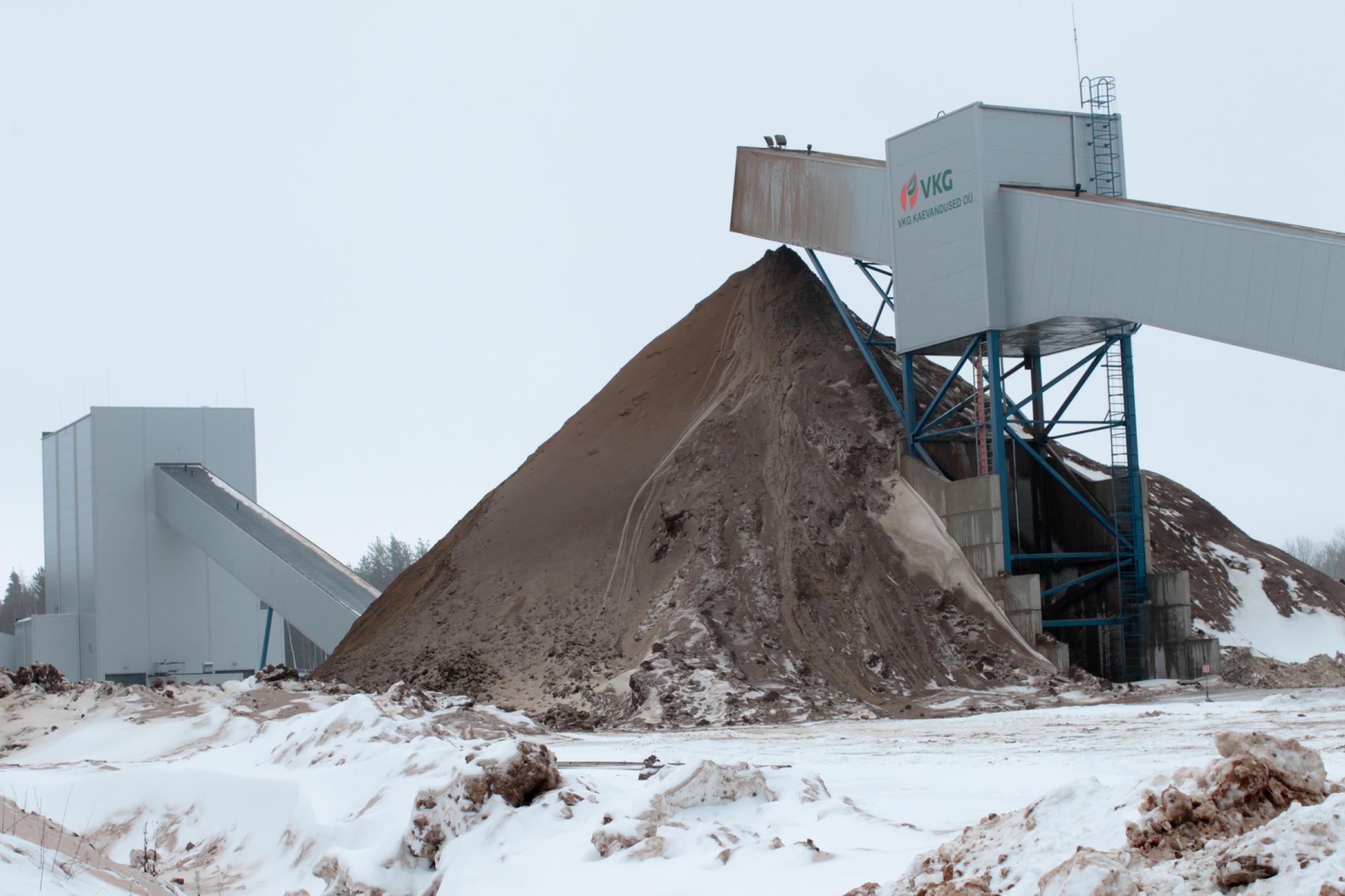 Mäetööstus, kaevandus. Foto: LIIS TREIMANN/POSTIMEES/SCANPIX
