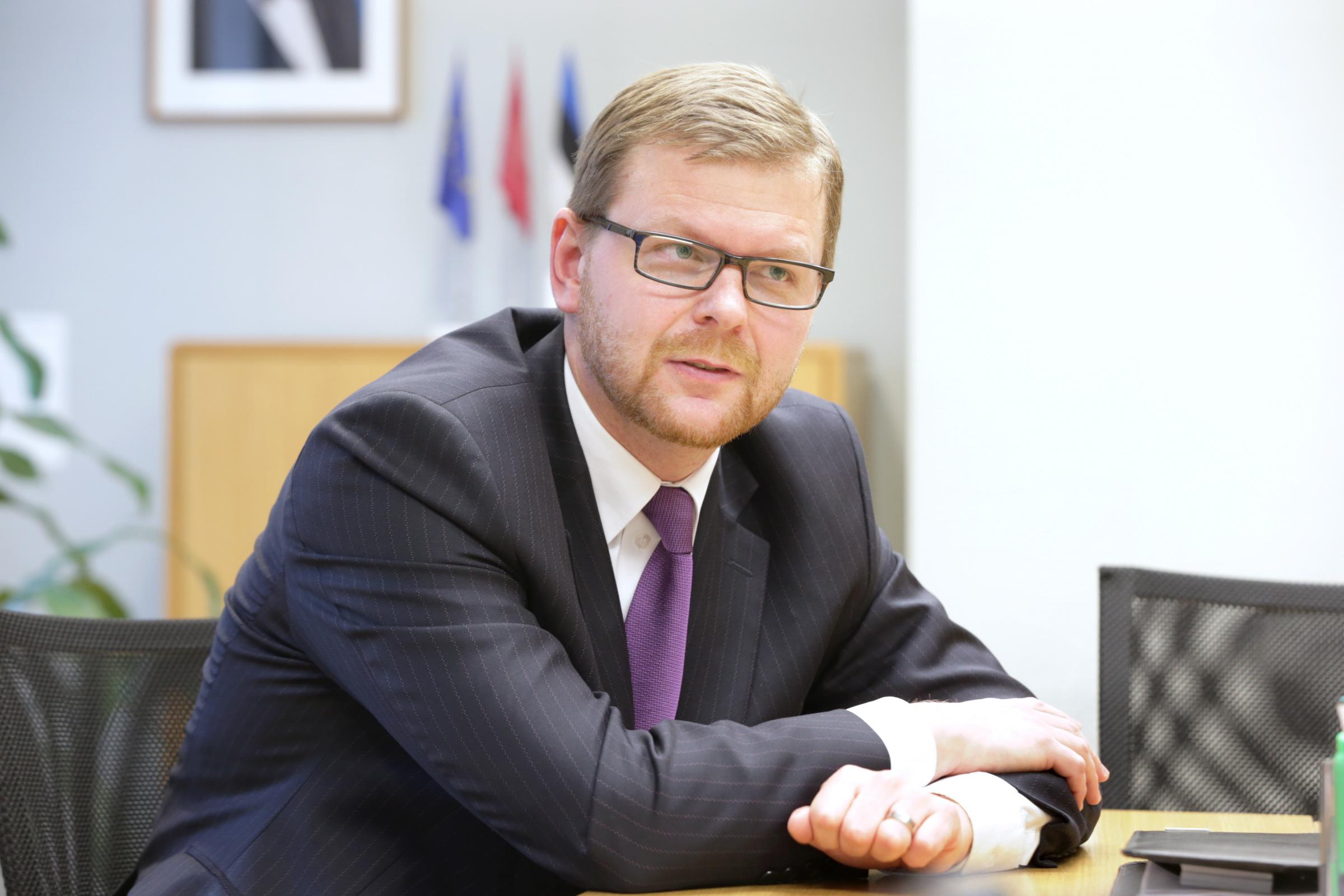 Finantsinspektsiooni juhatuse esimees KILVAR KESSLER pl/FOTO PEETER LANGOVITS/ POSTIMEES/ SCANPIX