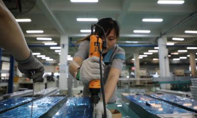 Elektroonikatööstus. Foto: REUTERS/CHINA STRINGER NETWORK