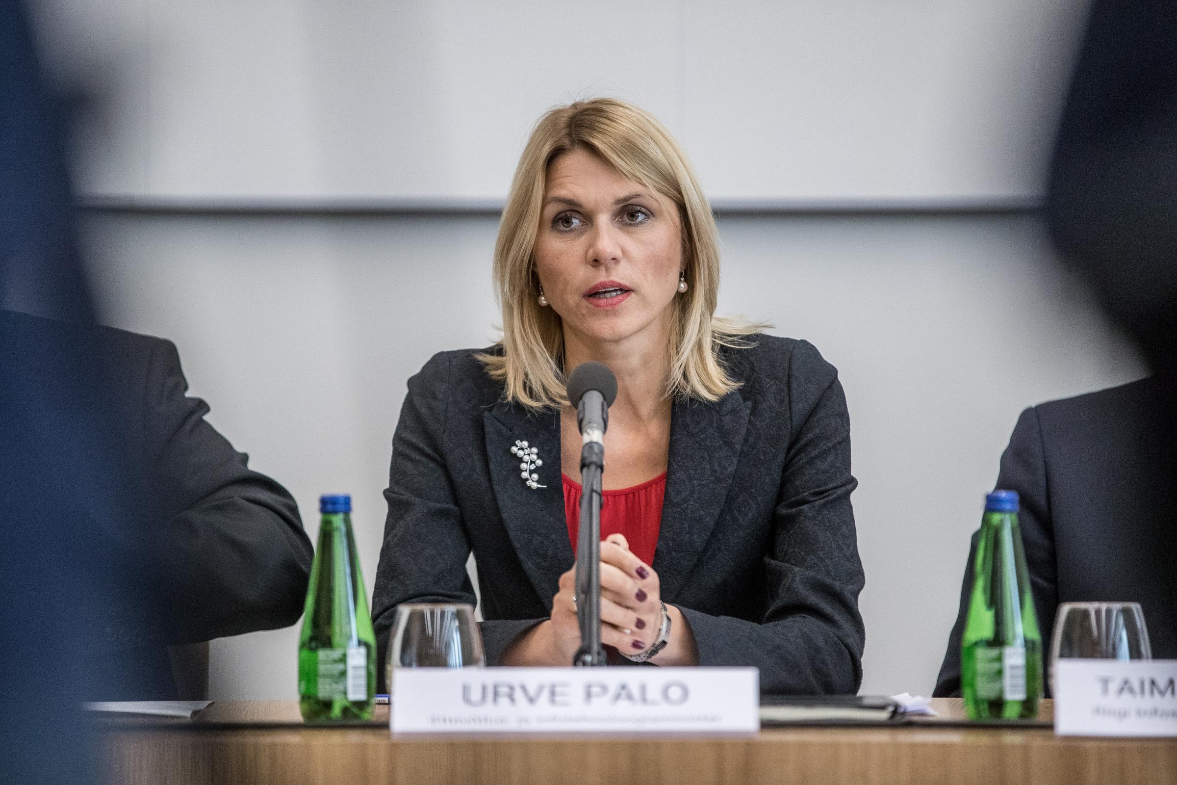 Ettevõtlus- ja infotehnoloogiaminister URVE PALO. FOTO: SANDER ILVEST/POSTIMEES/Scanpix