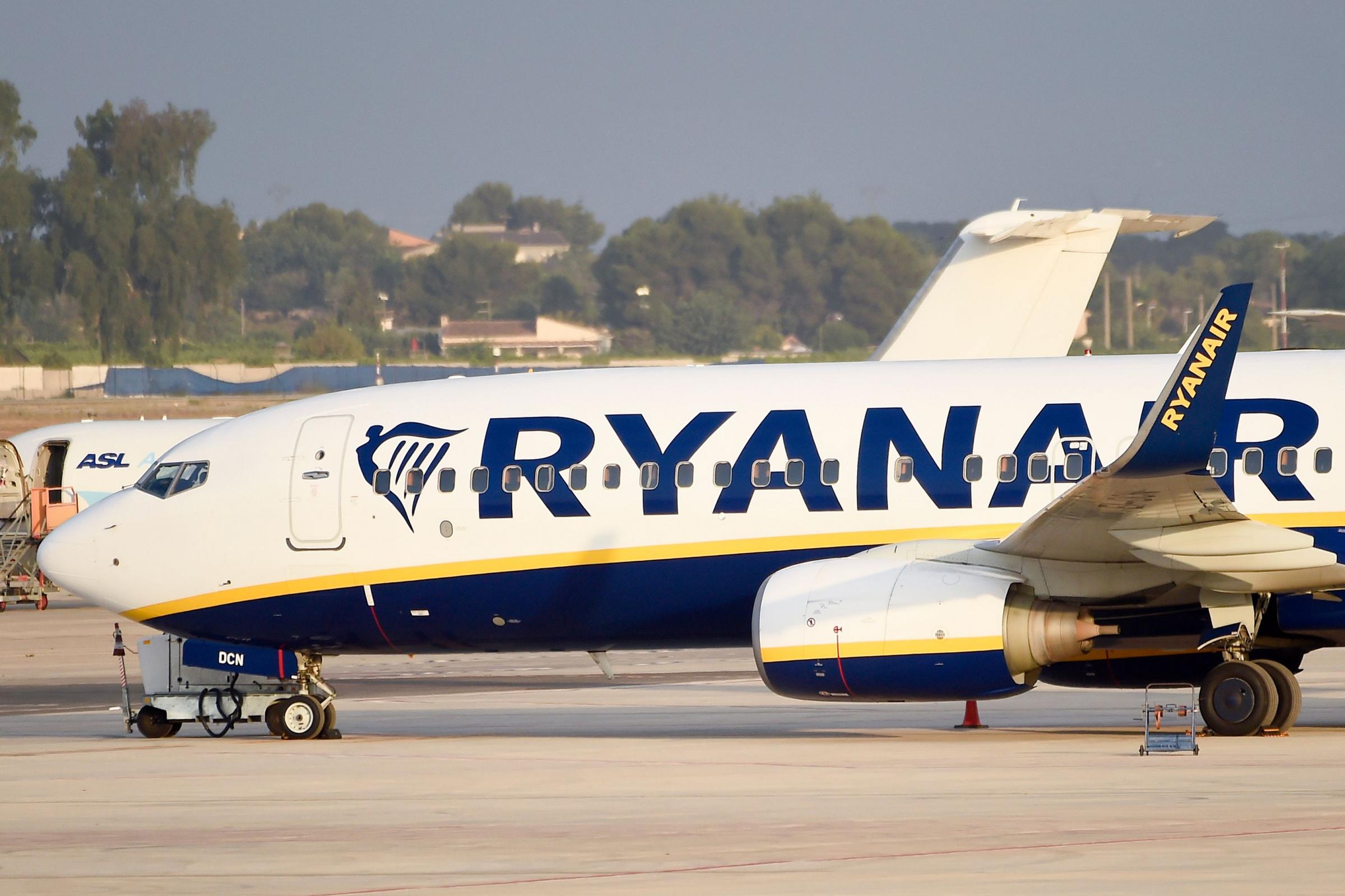 Ryanair. Foto: AFP PHOTO / JOSE JORDAN