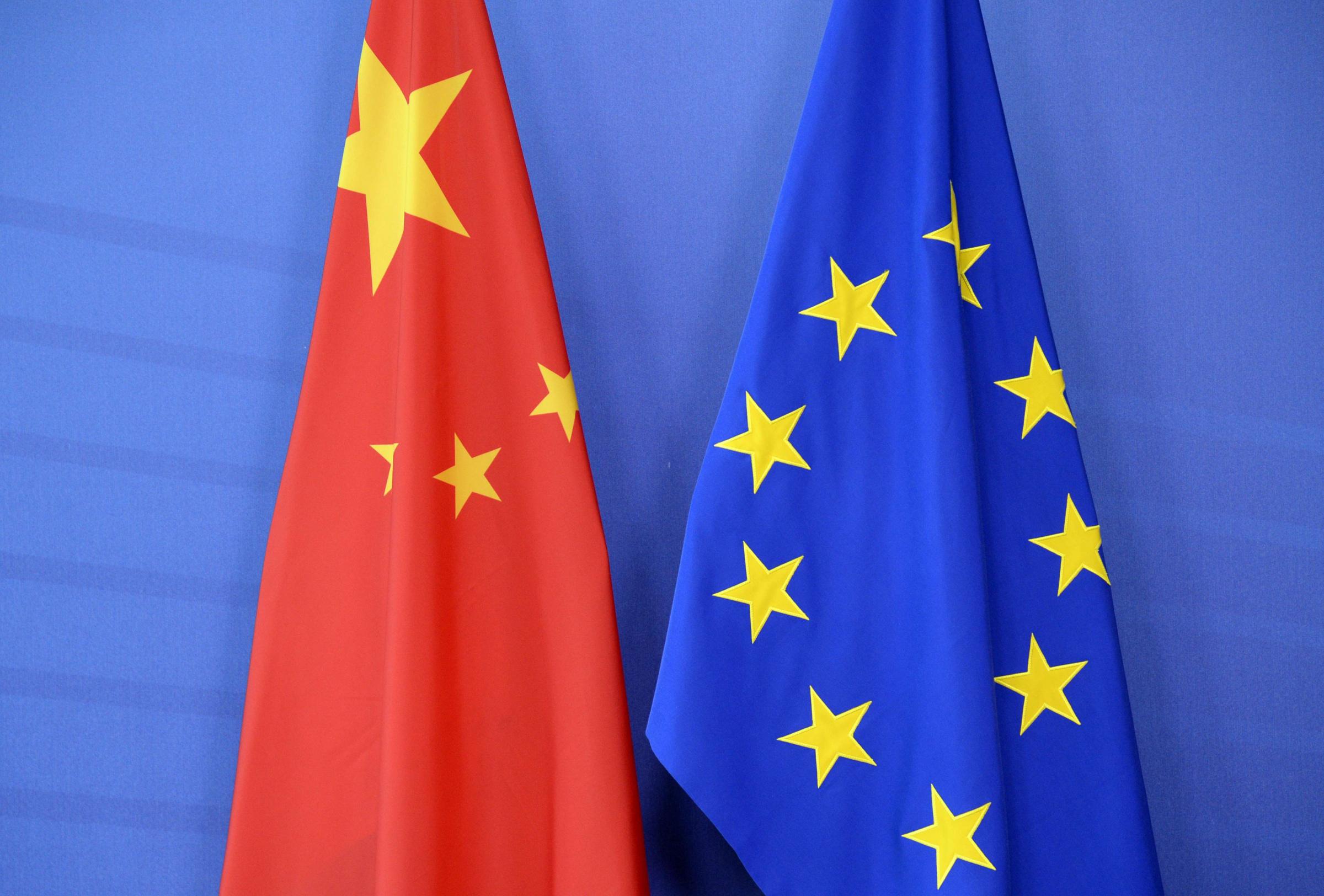 Hiina, Euroopa Liit ja kaubandussuhted. Foto: AFP/THIERRY CHARLIER