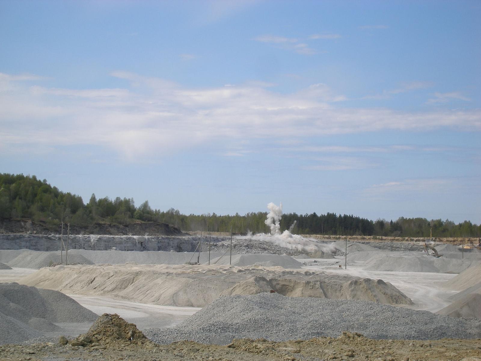Vasalemma kaevandus. Foto: Nordkalk