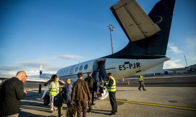 TRANSAVIABALTIKA lennud Hiiumaale. FOTO: EERO VABAMÄGI/POSTIMEES/SCANPIX