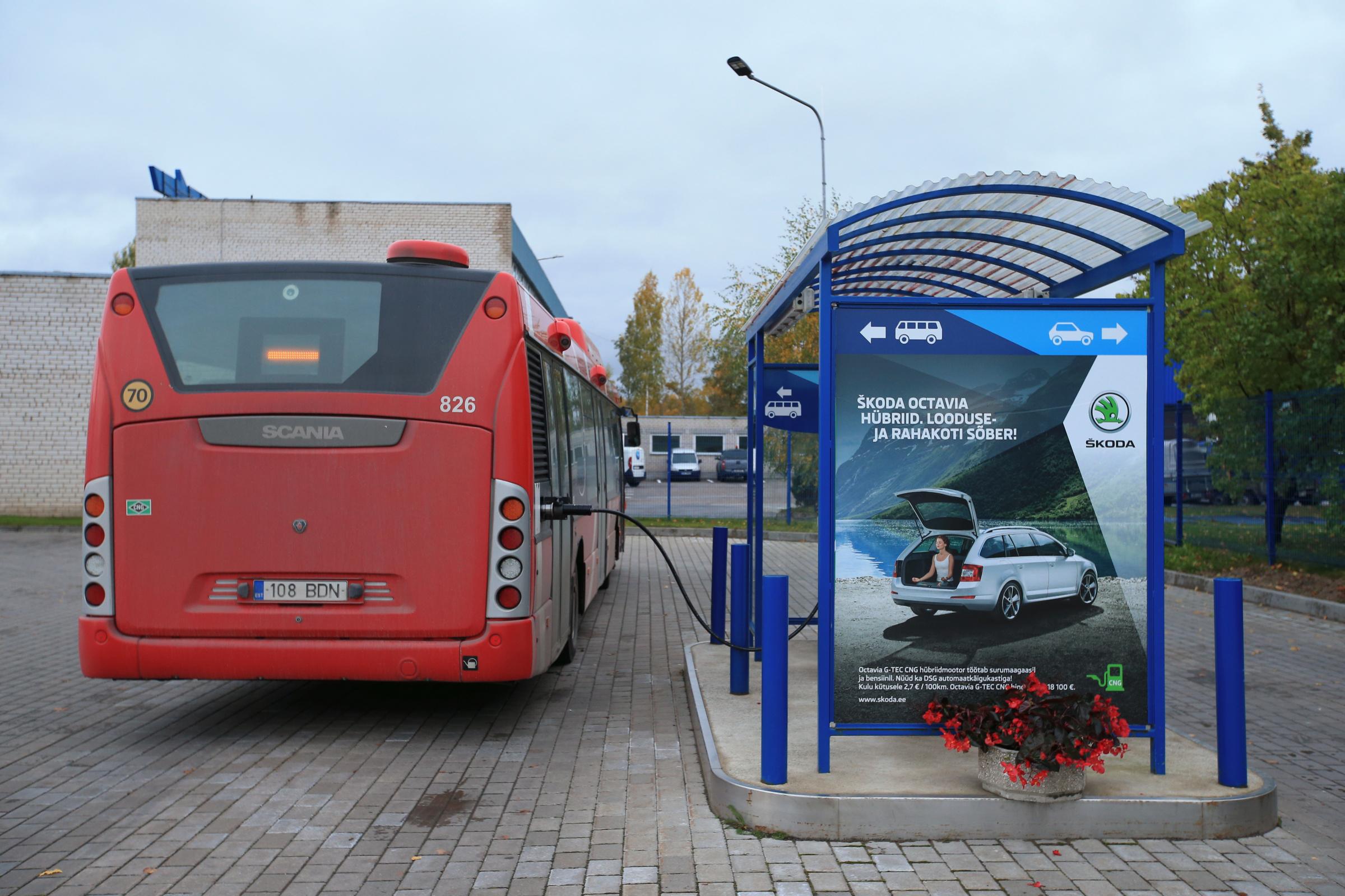 Biometaan, gaasitankla. Foto: MARGUS ANSU / SCANPIX /TARTU POSTIMEES