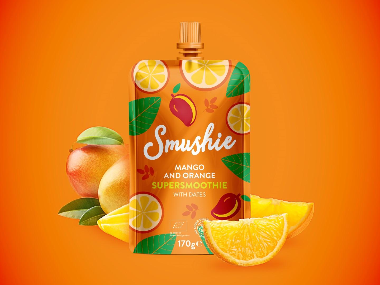 Salvest Smushie mango-apelsini. Kujutis: Salvest