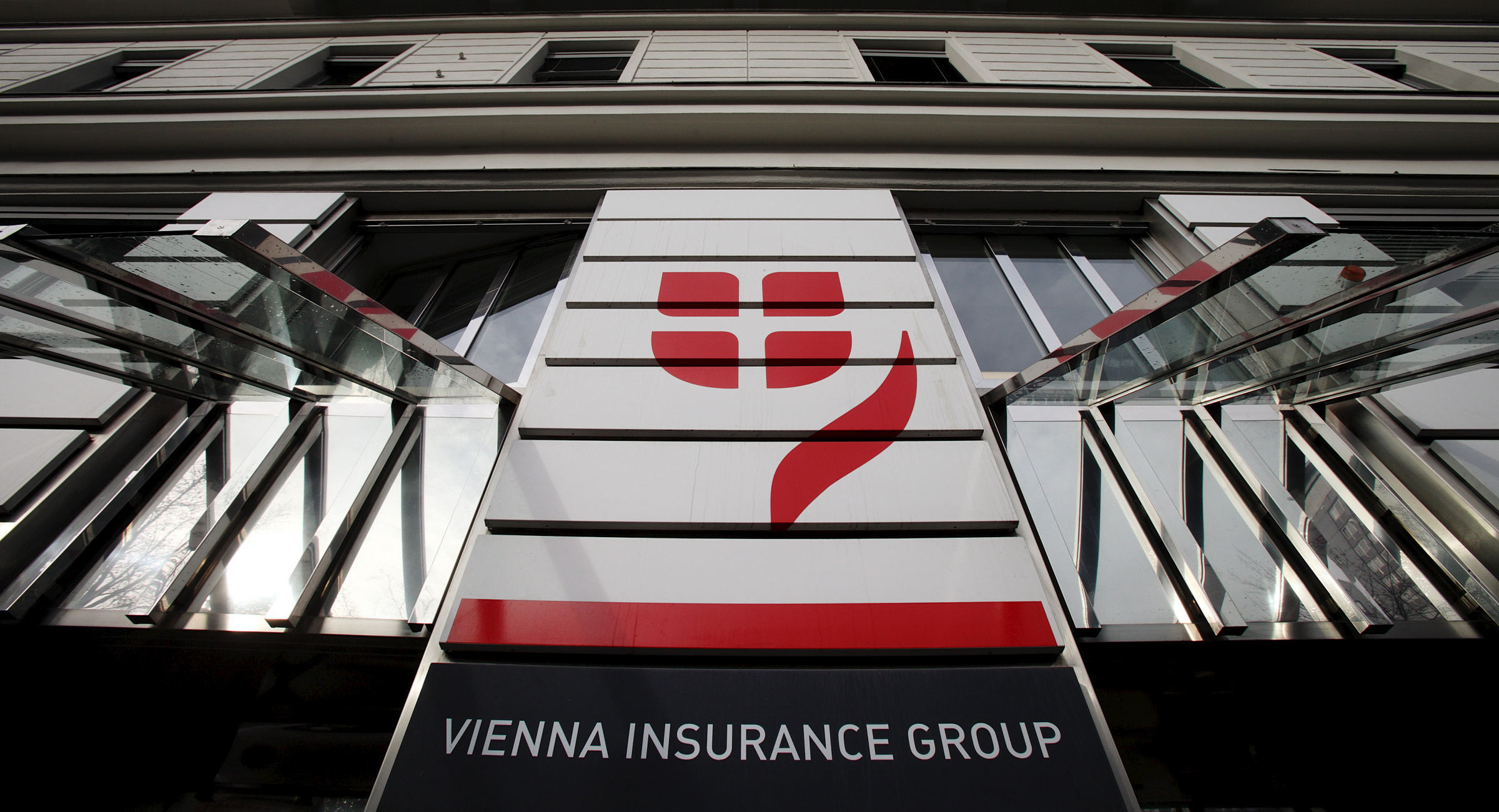 Vienna Insurance Group logo. Foto: REUTERS/Heinz-Peter Bader/Files