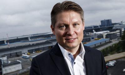 Finnairi uus juht Topi Manner. Foto: REUTERS / LEHTIKUVA
