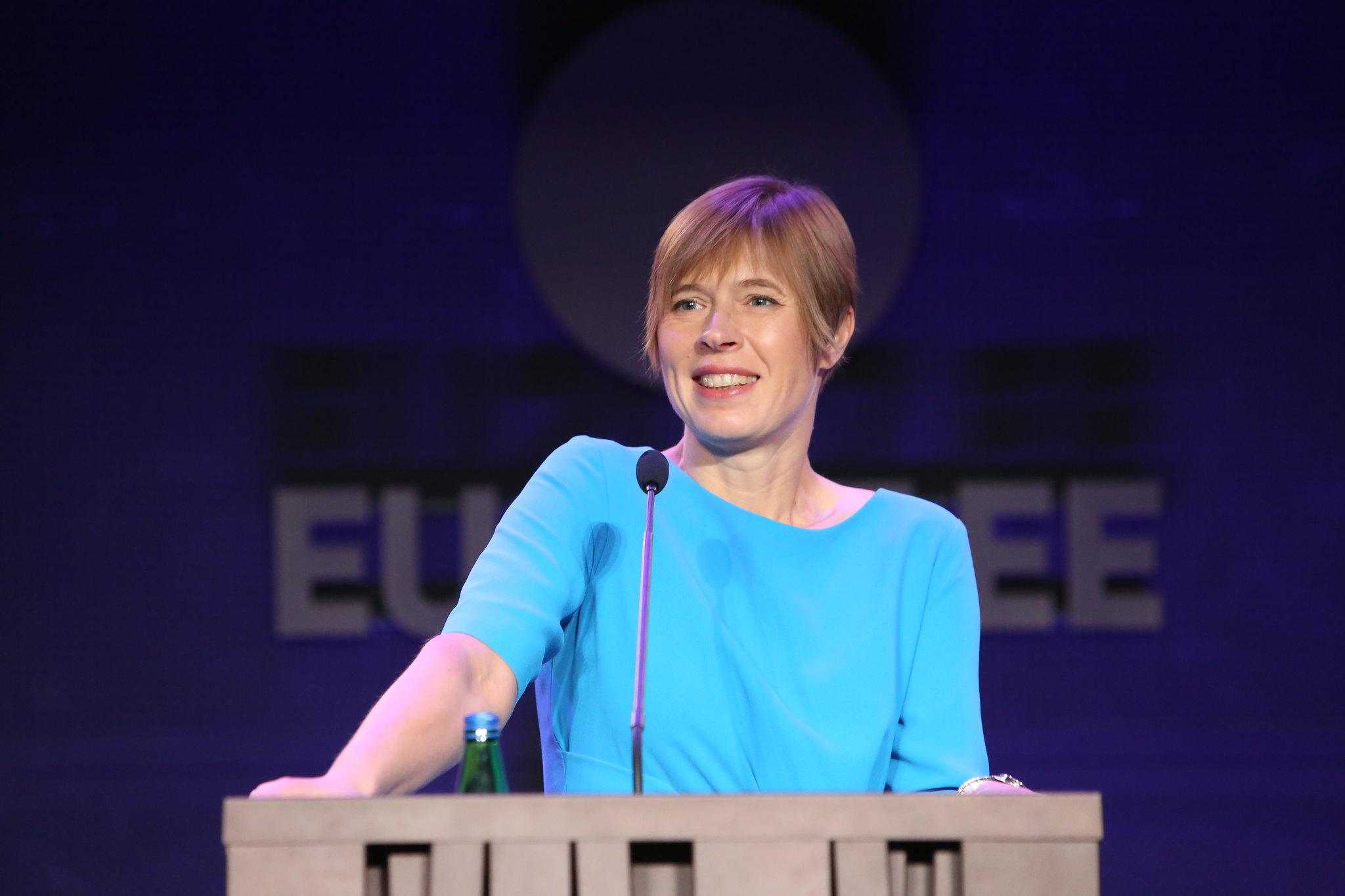 President Kersti Kaljulaid Annika Haas